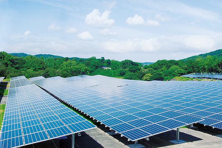 神在(かみあり)太陽光発電所