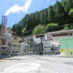 杖⽴(つえたて)温泉熱バイナリー発電所