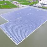 平池⽔上太陽光発電所