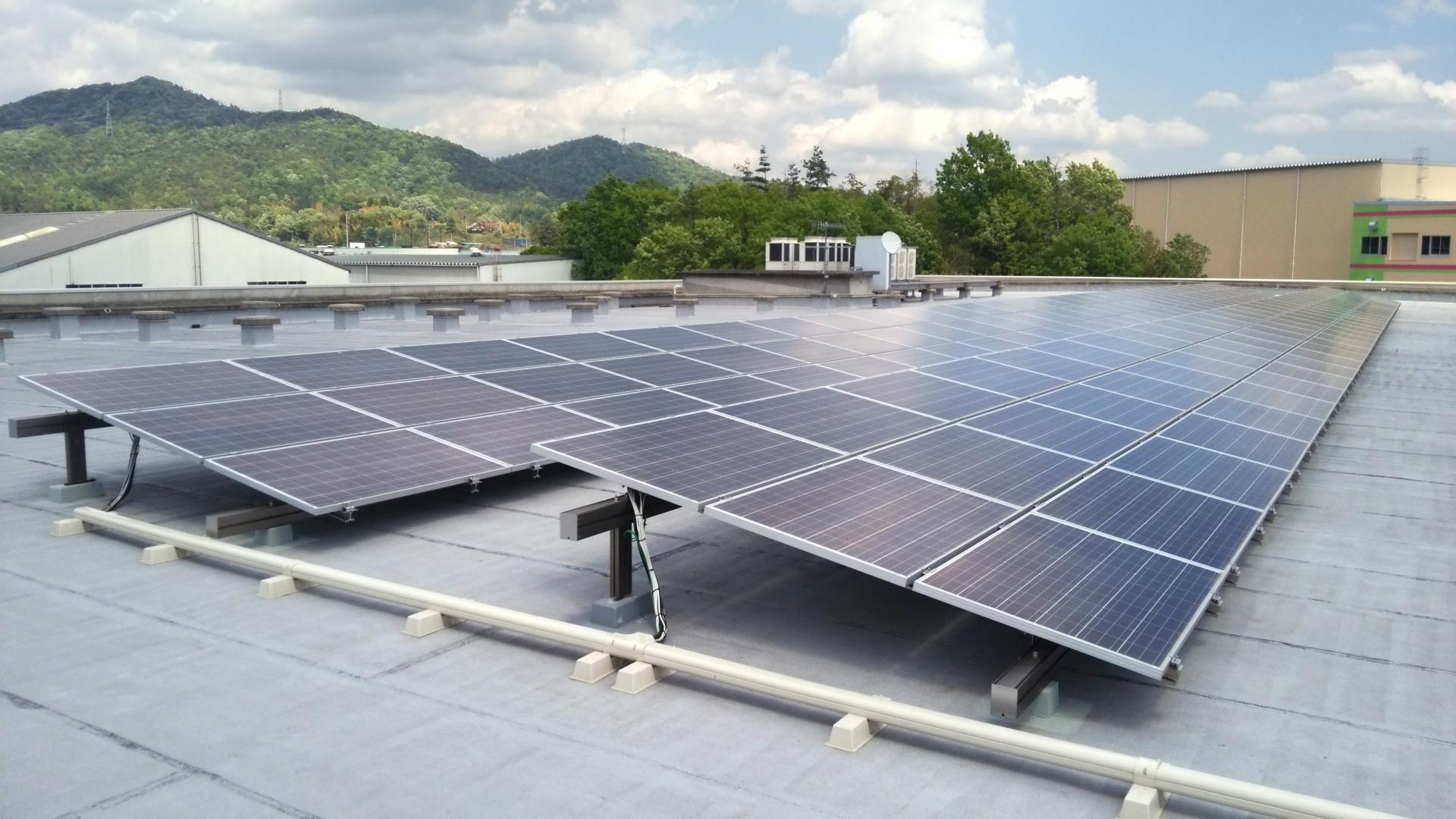 広島物流センター 太陽光発電所