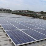グリーンコープやまぐち⽣協 ⻄部地域本部 太陽光発電所